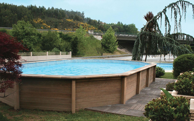 Piscine Da Esterno Rivestite In Legno piscine fuori terra: come prepararsi all'estate scegliendo